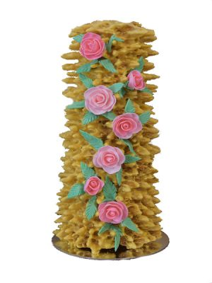 Tree Cakes with flowers