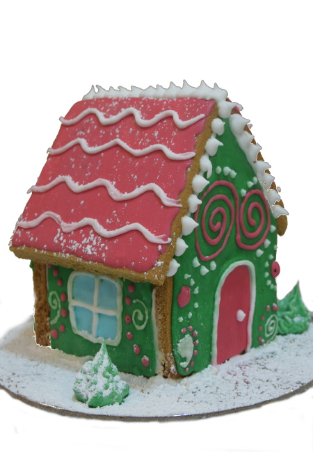 Gingerbread house medium